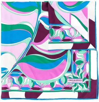 Emilio Pucci Square Printed Scarf