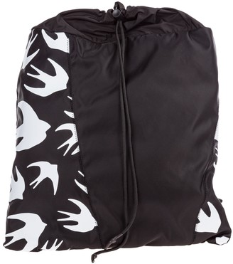 McQ Swallow Printed Rucksack Backpack