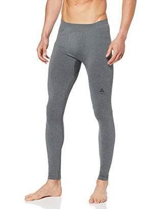 Odlo Bl Bottom Long Performance Warm-Grey Melange/Black, Women's Underwear, Women's, 188051-15701, Grey Melange/Black, XS