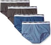 Gildan Men's 4-Pack Brief-Big Sizes