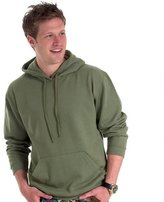 UneekClothing Uneek Clothing-Mens-Classic Hooded Sweatshirt-300 gsm-M