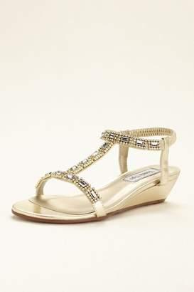 Touch Ups David's Bridal Jazz Wedge Sandal Style Jazz