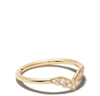 Astley Clarke 14kt yellow gold Interstellar Axel diamond ring
