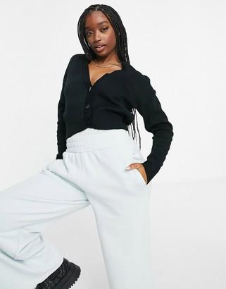 UNIQUE21 v neck cardigan in black