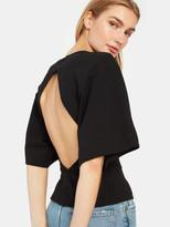 Bassike Double Jersey Batwing Short Sleeve T-Shirt