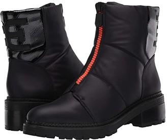 Sam Edelman Jalissa (Black WP Classic Nylon/Heavy Crinkle Patent Leather) Women's Shoes