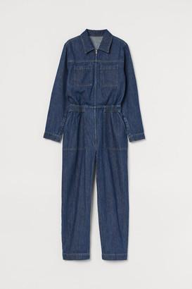 H&M Denim boiler suit