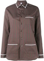 Marie Marot - 'Kate' checked shirt - women - Cotton - XS