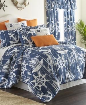 Colcha Linens Nautical Board Comforter Set-Twin Bedding