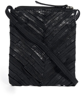 Pieces Leather Iben Festival Cross Body Bag