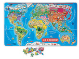 Janod Magnetic puzzle - World