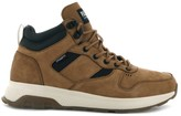 Palladium Axeon Army R Mid LTH Leather Hi-Top Trainers