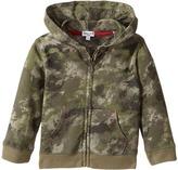 Splendid Littles Camo Hoodie Zip-Up Jacket Boy's Jacket