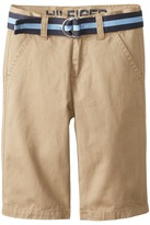 Tommy Hilfiger Chester Twill Shorts (Big Kids)