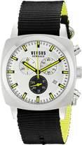 Versus By Versace Men's SOI010015 RIVERDALE Analog Display Quartz Black Watch
