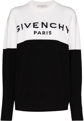 Givenchy Two Tone Logo Jumper