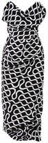 VIVIENNE WESTWOOD RED CARPET Exclusive Cocotte squiggle-print dress