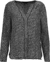 Belstaff Nayland printed silk crepe de chine blouse