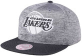 Mitchell & Ness Los Angeles Lakers Space Knit Snapback Cap