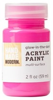 Hand Made Modern - 2oz Acrylic Paint - Glow in the Dark - Candy Floss