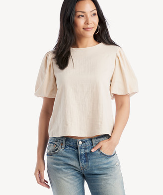Sole Society The Good Jane Women's Soft In Color: Sand Emma Top Size XS From