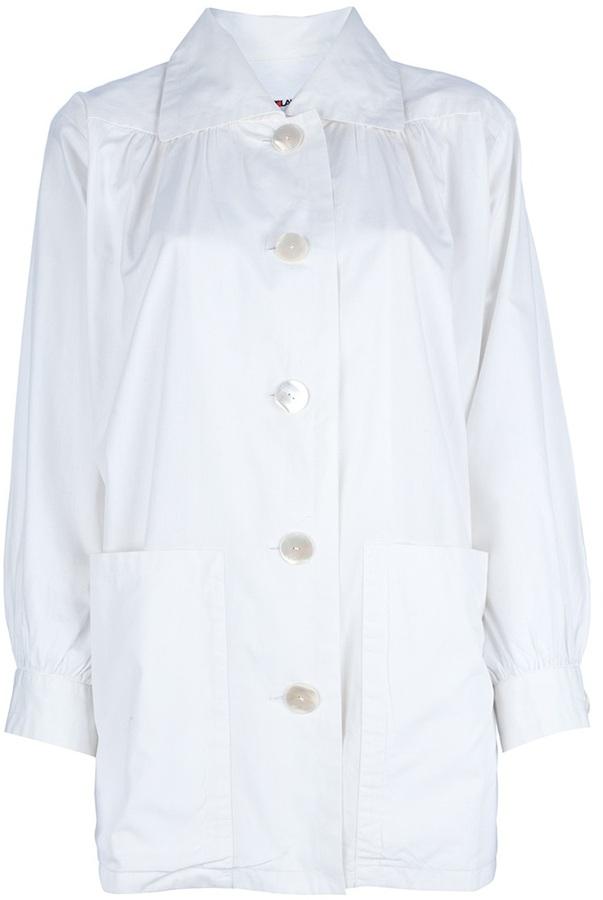 Yves Saint Laurent Vintage structured shirt