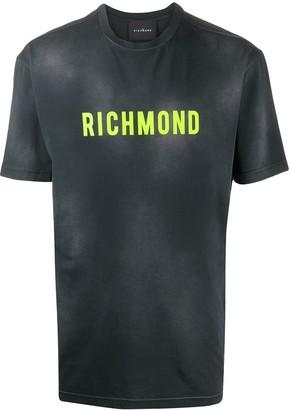 John Richmond logo patch T-shirt