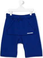 DSQUARED2 drop crotch track shorts