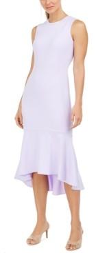 Calvin Klein High-Low Sheath Dress