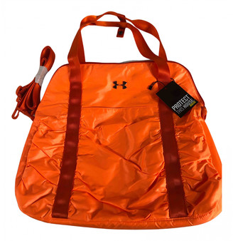 Under Armour Orange Synthetic Backpacks