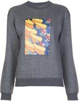 Julien David printed sweatshirt - women - cotton - S