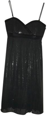 Dice Kayek Black Glitter Dress for Women Vintage