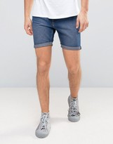 Cheap Monday Sonic Shorts Encore Blue Wash