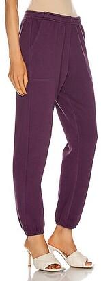 SABLYN Mason Sweatpant in Purple