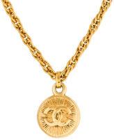 Chanel CC Chain Pendant Necklace