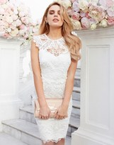 Lipsy Bridal Juliette Highneck Lace Dress
