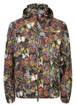 Valentino Butterfly Print Windbreaker Jacket