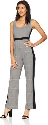 Donna Morgan Women's Button Front Jumpsuit