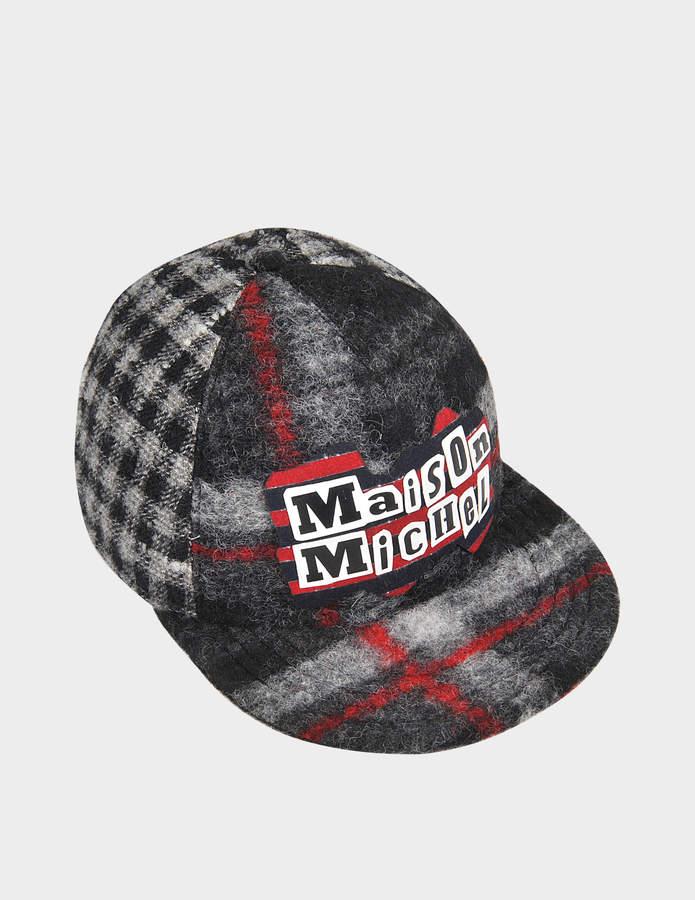Maison Michel Rotten Cloth Nick cap