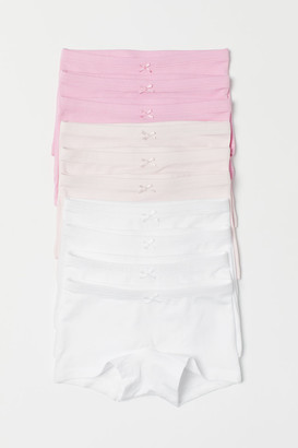 H&M 10-Pack Cotton Boxer Briefs