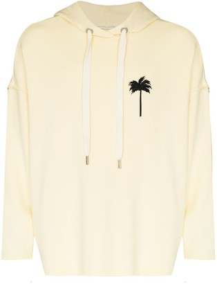 Palm Angels Palm Tree Print Hoodie