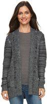 Croft & Barrow Women's Marled Cardigan Sweater
