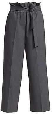 3.1 Phillip Lim Women's Pinstripe Paper Bag Pants