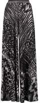 Missoni Crocheted Wool-Blend Wide-Leg Pants