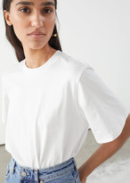 And other stories Boxy Organic Cotton T-Shirt