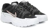 Nike P-6000 SE mesh and leather sneakers