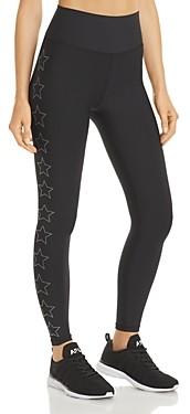 Aqua Athletic Studded Star Leggings - 100% Exclusive