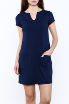 Susana Monaco Inkwell Blue Dress