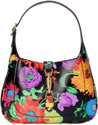 Gucci Ken Scott print Jackie 1961 small hobo bag