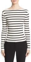 Theory Blasina ST V-Back Rib Knit Sweater
